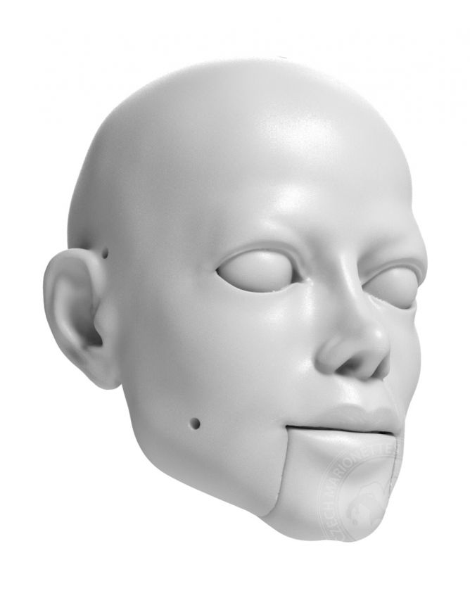 Michael Jackson head model for 3D printing