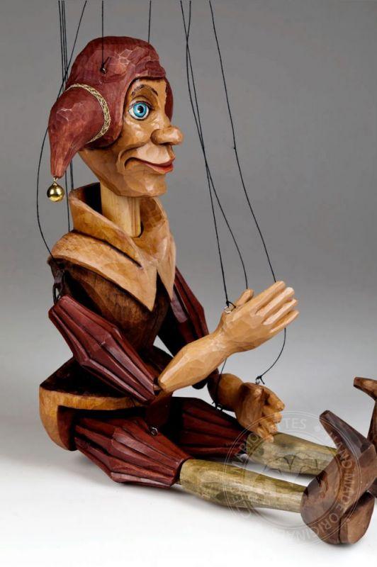 Jester Marionette Puppet Czech Marionettes