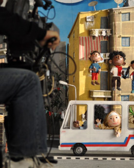foto: Marionettes Puppets for advertisement