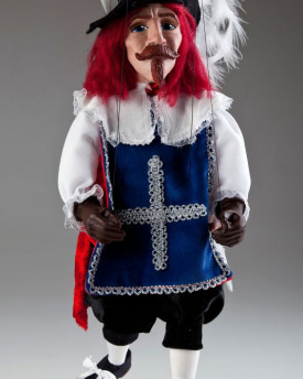 foto: Musketeer Andre Czech Marionette Puppet