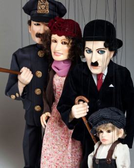 foto: Charlie Chaplin Marionette Collection