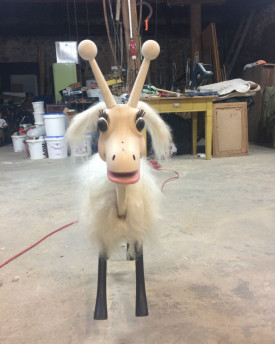foto: Goat – special custommade marionette for Pocari Commercial