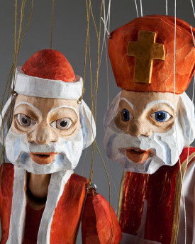 foto: Santa Claus and Saint Nicholas