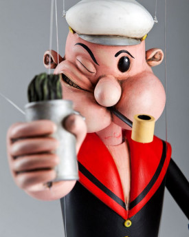 foto: Popeye the Sailor Marionette