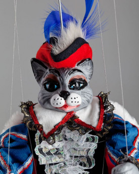 foto: Kater in Stiefeln Marionette