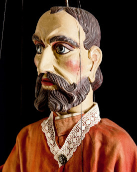 Nobleman - antique marionette