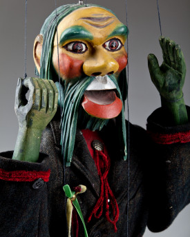Water Sprite - antique marionette