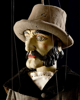 Gamekeeper - antique marionette