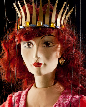 Princesse - marionnette antique