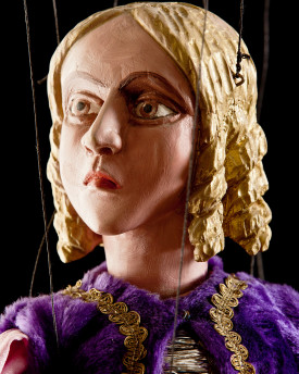 Lady - antique marionette