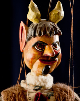 Little Devil - antique marionette
