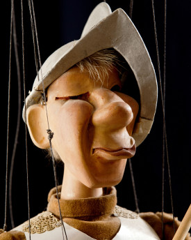 Guard - antique marionette