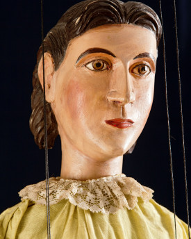 Beautiful girl - antique marionette