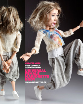 Female Marionette Universal Full Control Body – Ver 2.1
