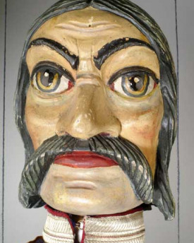 Knight with sabre
