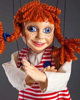 Pippi Longstocking Marionette
