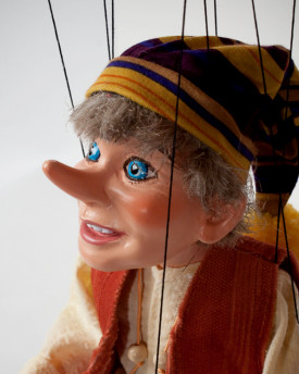 Large Pinocchio Cartoon Puppet