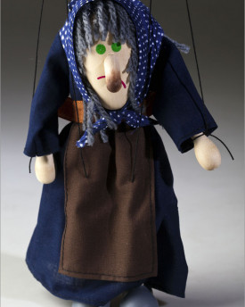 foto: Hunchbacked Witch Marionette