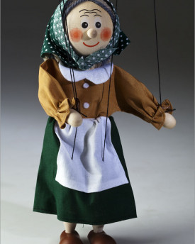 Grandmother marionette