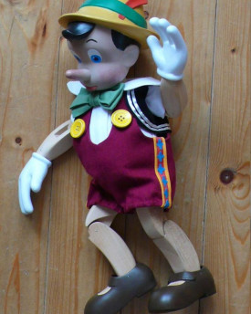 Pinocchio - perfectly hand carved replica