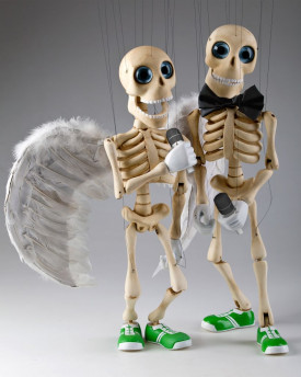 foto: Bonnie - Performance Dancing Skeleton Marionette