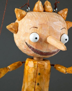 Pepe Czech Marionette Hand Carved