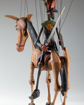 Don Quijote and Rocinante Horse