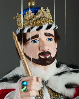 Marionette King Karel IV.