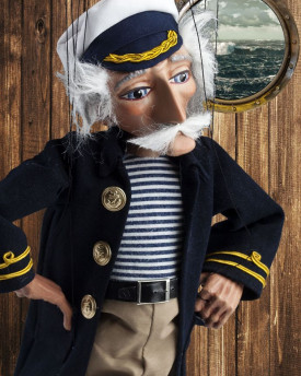 The Sea Wolf Sailor Puppet
