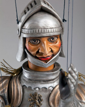 Knight Handcarved Marionette
