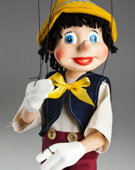 foto: Young Pinocchio Marionette