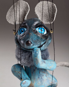 Mouse the Comedian Marionette