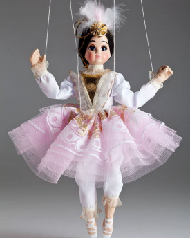 Ballerina Rosie - awesome string puppet