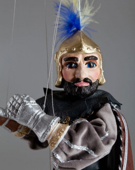 The Lonely Knight - a string puppet like from a fairy tale