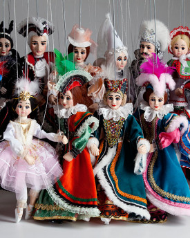 foto: Fairy Tale Collection of Marionettes