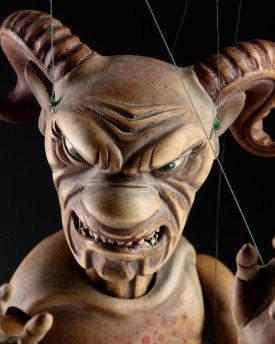 foto: Traditional baroque devil that gives you the shivers