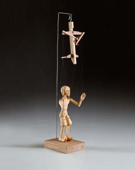 foto: The smallest marionette in the world - Jester