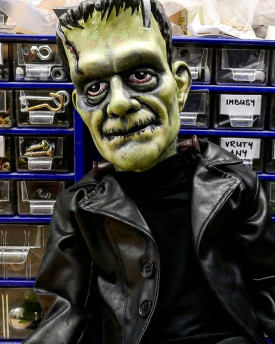 3D Model of Frankenstein monster's head for 3D print
