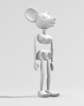 Dancing mouse marionette