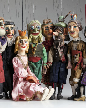 Josef Lada Collection - antique marionettes