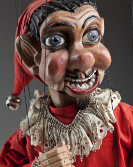 Antique Jester with moving mouth
