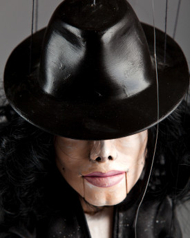 foto: Puppet of Michael Jackson