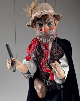 Robber - antique marionette