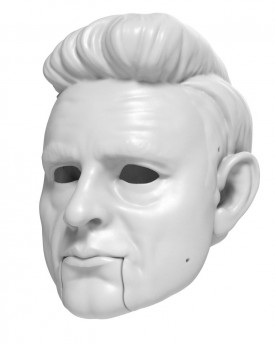 3D Model of Johnny Cash head for 3D print 150 mm