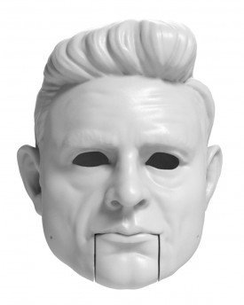 Johnny Cash head model for 3D printing