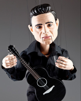 3D Model of Johnny Cash head for 3D print